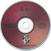 "Alice "" I Feel So ME Now! Performance CD — INCITE PRODUCTIONS-Terri New"