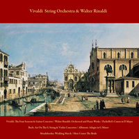 Vivaldi: the Four Seasons & Guitar Concerto / Walter Rinaldi: Orchestral and Piano Works / Pachelbel's Canon in D Major / Bach: Air On the G String & Violin Concertos / Albinoni: Adagio in G Minor / Mendelssohn: Wedding March / Here Comes the Bride — Vivaldi String Orchestra & Walter Rinaldi