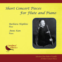 Short Concert Pieces for Flute and Piano — Barbara Hopkins