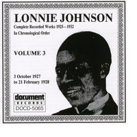 Lonnie Johnson Vol. 3 (1927 - 1928) — Lonnie Johnson