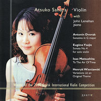 Dvorak: Sonatina in G Major - Ysaÿe: Sonata No. 4 - Matsushita: To the Air of Time, et al. — John Lenehan, Atsuko Sahara, Антонин Дворжак