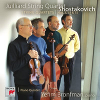 Shostakovich String Quartets Nos. 3, 14 & 15; Quintet in G minor — Juilliard String Quartet, Isidore Cohen, Raphael Hillyer, Robert Mann, Claus Adam, Joel Krosnick