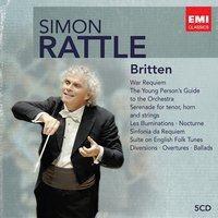 Simon Rattle Edition: Britten — Sir Simon Rattle, Бенджамин Бриттен