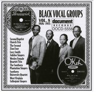 Black Vocal Groups Vol. 8 (1926-1935) — Various Artists - Document Records