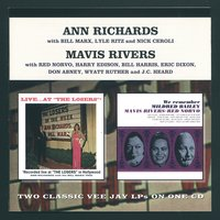 "Live At The Losers / ""We Remember Mildred Bailey"" — Ann Richards With The Bill Marx Trio & Mavis Rivers"