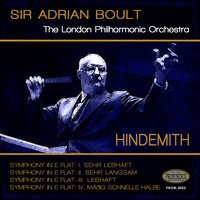 Hindemith: Symphony in E-Flat Major — Пауль Хиндемит, London Philharmonic Orchestra, Sir Adrian Boult