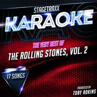 Stagetraxx Karaoke : The Very Best of The Rolling Stones, Vol. 2 — Toby Adkins