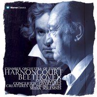 Harnoncourt - The Complete Beethoven Recordings — Людвиг ван Бетховен, Nikolaus Harnoncourt, The Chamber Orchestra Of Europe
