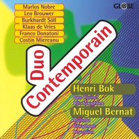 Works for Bass Clarinet or Alto Saxphone and Percussion — Leo Brouwer, Marlos Nobre, Franco Donatoni, Costin Miereanu, Klaas de Vries, Duo Contemporain