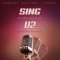 Sing in the Style of U2 — Karaoke Backtrax Library
