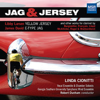 Jag & Jersey and Other Works for Clarinet — Linda Cionitti
