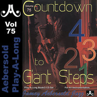 Countdown to Giant Steps - Volume 75 — Jamey Aebersold Play-A-Long, John Patitucci, Andy Laverne, Steve Davis