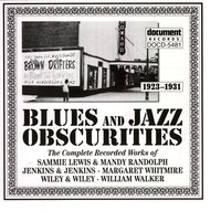 Blues & Jazz Obscurities (1923-1931) — сборник
