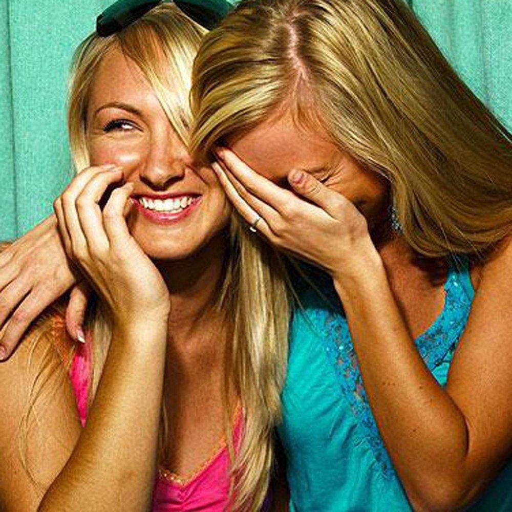 Смешные картинки с девушками с над