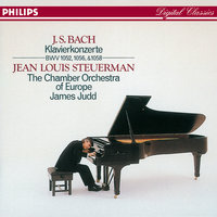 Bach, J.S.: 3 Piano Concertos — Chamber Orchestra Of Europe, James Judd, Jean Louis Steuerman