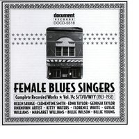 Female Blues Singers Vol. 14 S/T/U/W/Y (1923-1932) — Various Artists - Document Records