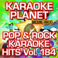 Pop & Rock Karaoke Hits, Vol. 184 — A-Type Player