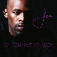 So I Can Have You Back — Joe
