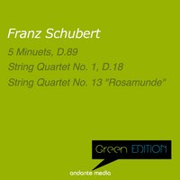 Green Edition - Schubert: 5 Minuets, D. 89 — Франц Шуберт, Jörg Faerber, Württemberg Chamber Orchestra