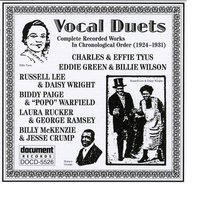 Vocal Duets (1924-1931) — Various Artists - Document Records