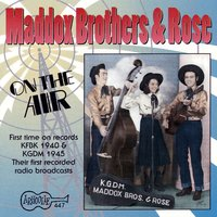 On The Air — The Maddox Brothers and Rose