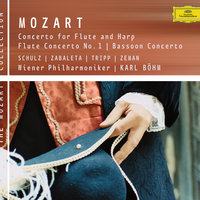 Mozart: Concertos for Flute, Flute and Harp, Bassoon — Karl Böhm, Karl Böhm [Conductor], Wolfgang Schulz, Nicanor Zabaleta, Nicanor Zabaleta [Harp], Wolfgang Schulz [Flute]