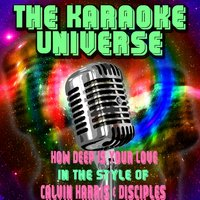 How Deep Is Your Love[In The Style Of Calvin Harris & Disciples] — The Karaoke Universe