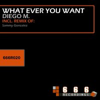 What Ever You Want — Diego M.