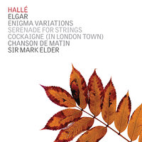 Elgar: Enigma Variations — Эдуард Элгар, The Hallé, Mark Elder
