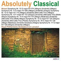 Absolutely Classical, Volume 105 — The Royal Philharmonic Orchestra, Erich Leinsdorf, Вольфганг Амадей Моцарт