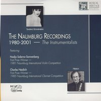The Naumberg Recordings, 1980-2001: The Instrumentalists, Vol. 3 - Nadja Salerno-Sonnenburg — Nadja Solerno-Sonnenberg, Sandra Rivers