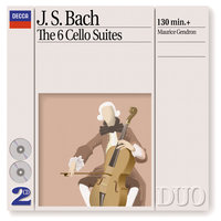 Bach, J.S.: The 6 Cello Suites — Maurice Gendron