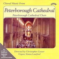 Alpha Collection Vol 9: Choral Music from Peterborough Cathedral — Peterborough Cathedral Choir