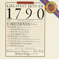 Greatest Hits of 1790 — Chick Corea, Philharmonia Virtuosi of New York, Richard Kapp