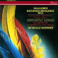 Villa-Lobos: Cantilena From Bachianas Brasileiras No. 5 / Barber: Adagio / Vaughan Williams: Fantasia On Greensleeves etc — Sir Neville Marriner, Academy of St. Martin in the Fields