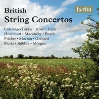 British String Concertos — The London Symphony Orchestra, The Royal Philharmonic Orchestra, London Philharmonic Orchestra, English Chamber Orchestra, Sir Adrian Boult, Густав Холст
