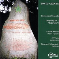 The Music Of David Gaines — Kimball Wheeler, David Gaines, Moravian Philharmonic Orchestra, Vít Micka, Jiri Vydra