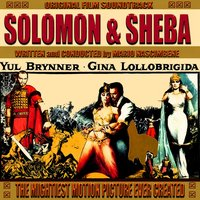 The Mightiest Motion Pictute Ever Created - Solomon and Sheba — Mario Nascimbene
