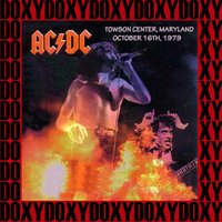 Towson Center, Maryland, October 16th, 1979 — AC/DC