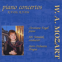 Mozart Piano Concertos: Piano Concerto No. 16 in D major, KV 451; Piano Concerto No. 18 in B flat major, KV 456 — Jiri Tomasek,  The Stern Orchestra & Christiane ENgel