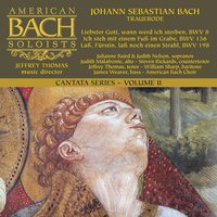 Bach Cantata Series, Vol. 2: Trauerode — American Bach Soloists & Jeffrey Thomas
