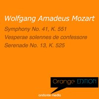 "Orange Edition - Mozart: ""Jupiter"" Symphony & ""A Little Night Music"" — Franz Lehrndorfer, Ursula Buckel, Carlos Unger, Вольфганг Амадей Моцарт"