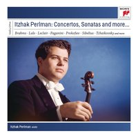Itzhak Perlman plays Concertos and Sonatas — André Previn, London Symphony Orchestra (LSO), Itzhak Perlman, New York Philharmonic Orchestra, Juilliard String Quartet