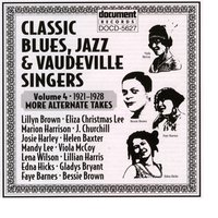 Classic Blues, Jazz And Vaudeville Singers Vol. 4 (1921-1928) — Lightnin' Hopkins