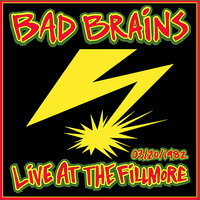 Live at the Fillmore 1982 — Bad Brains
