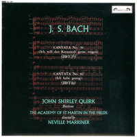 Bach, J.S.: Cantatas Nos. 56 & 82 — Sir Neville Marriner, Academy of St. Martin in the Fields, Orchestre Symphonique De Montreal, John Shirley-Quirk