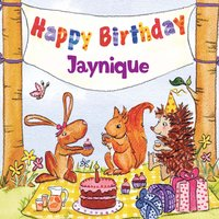 Happy Birthday Jaynique — The Birthday Bunch