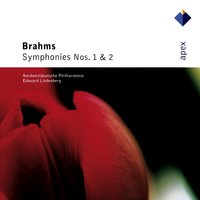 Brahms : Symphonies Nos 1 & 2 — Edouard Lindenberg & North-West German Philharmonic Orchestra, North-West German Philharmonic Orchestra