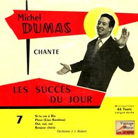 "Vintage French Song Nº 74 - EPs Collectors, ""Les Succès Du Jour"" — Michel Dumas"
