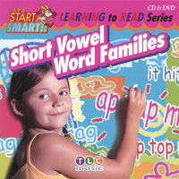 Short Vowel Word Families CD & DVD — Let's Start Smart